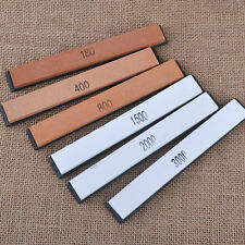 6x Professional Sharpening Grit Knife Polishing Whetstone Home Kitchen Tool Kits