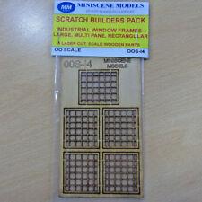 oos-14 miniscene modèles CALIBRE 00 à numéros Builders Kit Lot COUPÉ au laser