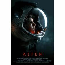 Alien Movie Print Art Silk Poster
