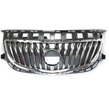 For Buick Regal 2014-2016 Original Grille ABS Chromed Front Grill Grid Trim Set