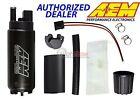 GENUINE AEM 50-1000 340LPH Intank EFI Fuel Pump w/ Strainer & Install Kit