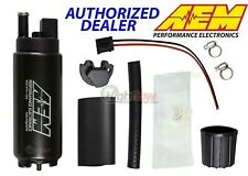GENUINE AEM 50-1000 340LPH Intank EFI Fuel Pump w/ Strainer & Install Kit