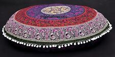 Indian Round Mandala Floor Pillows Bohemian Cushion Cushions Pillows Cover Case