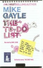 Mike Gayle - The To-Do List (Playaway MP3 A/B 2009) FREE UK P&P