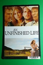 AN UNFINISHED LIFE LOPEZ LUCAS  COVER ART MINI POSTER BACKER CARD (NOT a movie)