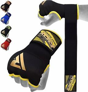 RDX Inner Boxing Gloves Hand Wraps MMA Elasticated Fist Protector MuayThai