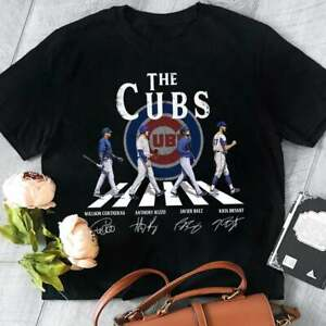 The Cubs Willy Contreras Anthony Rizzo Javier Baez Kris Bryant Chicago T Shirt