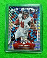 JULIO JONES MOSAIC PRIZM MEN OF MASTERY CARD ATLANTA FALCONS 2020 PANINI MOSAIC