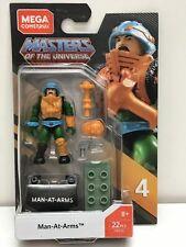 Man At Arms Mega Construx Series 4 Masters of the Universe 22pcs FWV52