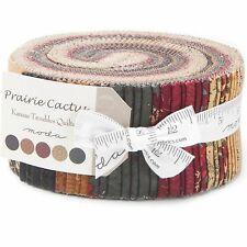 Prairie Cactus Jelly Roll by Kansas Troubles Quilters for Moda Fabrics