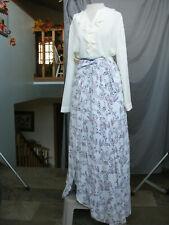 Victorian Costume Womens Civil War Dress Edwardian Style Prairie Western