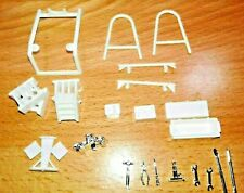 AMT DIORAMA PARTS TOOLS TOOL BOX,CEMENT BLOCKS,TIRE RACK,ENGINE STAND TROPHY