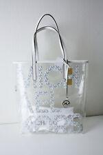 MICHAEL KORS The Michael Bag LG Tote Bag Bright White Multi