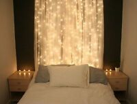 Outdoor 3*3M 300LED String Fairy Curtain Lights Christmas Wedding Party Decor