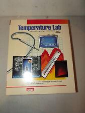 Hayden Software Temperature Lab Vtg Apple Ii 33509 Software 1985