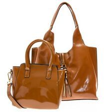 Dasein Women's Faux Leather Purses and Handbags Shoulder Bags Satchel Top Handle