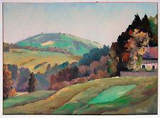Hohenpeißenberg von Rottenbuch Pfaffenwinkel Ölgemälde Richard Braun 1891-1969