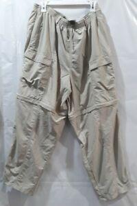 Columbia XXL Omni Shade Sun Protection Khaki Pants Pants or Shorts Fishing Gear
