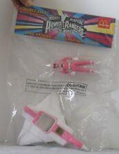 Vintage Power Rangers Pink in Crane Ninjazord Vehicle 1995 Mip McDonald Pop