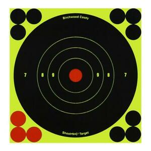 New Birchwood Casey Shoot-N-C Targets Silhouette High Visibility Resettable Indoor//Outdoor Excellent