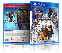 Kingdom Hearts HD 2.8 II: Final Chapter - ReplacementPS4 Cover and Case.NO GAME