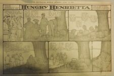 Hungry Henrietta by Winsor McCay from 7/16/1905! Half Page Size! 11 x 15 inches