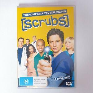 Scrubs Season 4 TV Series DVD Region 4 AUS - 4 x Disc Set Comedy