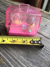 VTG Barbie Magic Moves Hamster Cage 1995 Mattel Wind-Up Toy WORKING Plastic Pink