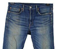 Levi's 511 Herren Jeans Gr W34 L30 Blau Baumwolle Casual XJ49