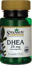 Swanson DHEA 25 mg - 30 Caps Testosterone/Estrogen/Sexual Energy FREE SHIPPING!