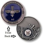 AG = Aerographers Mate ~ Airdale ~ U.S. Navy Airman Challenge Coins ~ Navy
