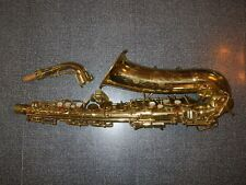 VINTAGE c. 1950 CONN 6M NAKED LADY ALTO SAXOPHONE - READ! - WRECKED - PARTS ONLY