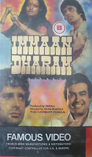 IMMAAN DHARAM - VHS Video Tape Cassette Bollywood Hindi Movie VERY RARE