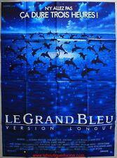LE GRAND BLEU VERSION LONGUE Affiche Cinéma / Movie Poster LUC BESSON
