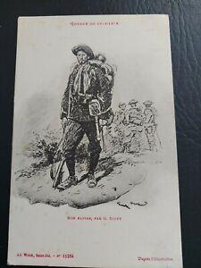 Carte postale GUERRE 14-18 WW1. chasseur alpin par G.SCOTT