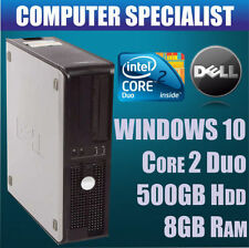 PCs de sobremesa y todo en uno Dell Intel Core 2 Duo 8GB