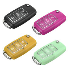 3 Buttons Remote Key Cover Case Fob For VW Golf Passat Beetle Jetta Polo Bora