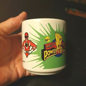 Vintage Mug - Jason Scarce - Mighty Morphin Power Rangers - ©1994 Saban