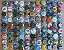 100 MIXED WORLDWIDE CURRENT/OBSOLETE BEER BOTTLE CAPS
