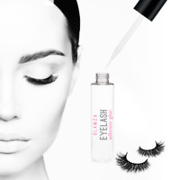 Precision Eyelash Glue Fake Eye Lash Brush On Lash Strong Premium Adhesive 5ml