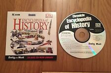 Collectable Promotional PC CD-Rom - Encyclopedia of History