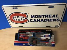 Matchbox NHL Montreal Canadiens Model A Ford Truck 2 Piece-License Plate VTG New