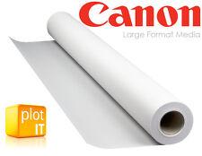 """2 Rollo Canon Foto Brillo Papel De Inyección De Tinta 260gsm 24"""" 610mm X 30m Brillante-EPSON HP"""