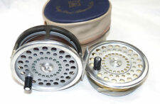 Hardy Marquis Salmon No1 fly reel & spare spool & lines & case