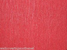 Impresionante Rojo Y Plata Cristal Incrustado del papel pintado