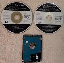 HP Compaq DV6700 Laptop Windows Vista Home Premium 64-Bit Recovery DVD's