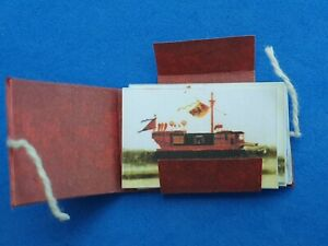 1:12 scale Art Folder/Prints of Chinese Boats Crafted by Ken Blythe