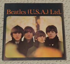 Original Beatles concert program 1965 US tour book John Paul George and Ringo