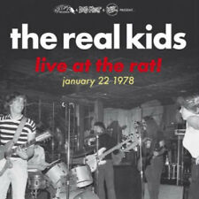 THE REAL KIDS - LIVE AT THE RAT! - JAN 22 1978 BOSTON MA KENMORE SQUARE - LP