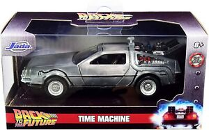 BACK TO THE FUTURE DELOREAN 1:32 SCALE DIE-CAST METAL VEHICLE JADA TOYS CAR